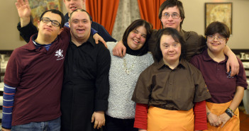 ITALY-SOCIAL-DISABLED-RESTAURANT