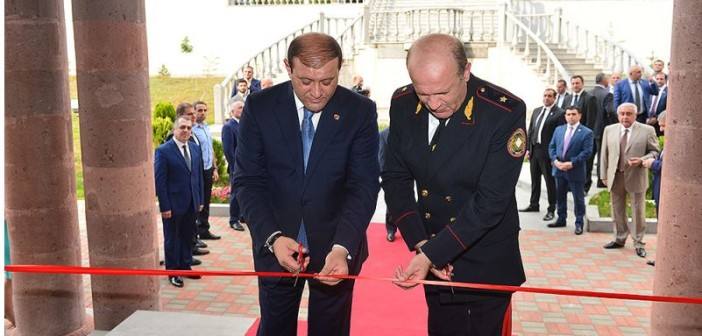 Opening ceremony of new administrative building of Yerevan Investigative Department of RA Investigative Committee
